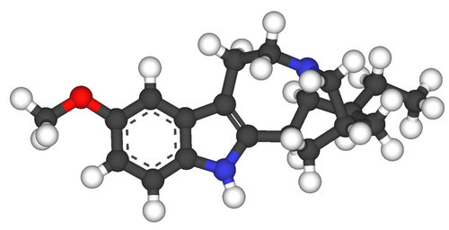 the chemical structure of ibogaine.picture